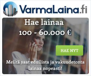 VarmaLaina.fi – Lainaa 100-60.000 euroa