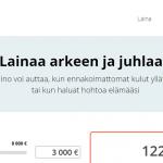 Halino lainaa 500-8000 euroa