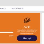 Komplett Bank lainaa 50.000 euroa!