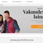 Nordax Bank pankkilaina 3000-60.000 euroa