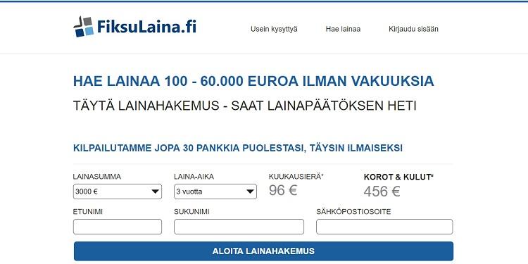 Fiksulaina.fi