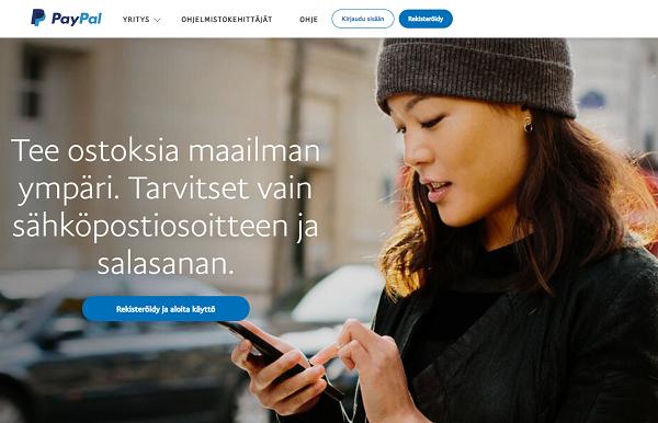 Paypal Suomi – näin otat maksutavan käyttöön